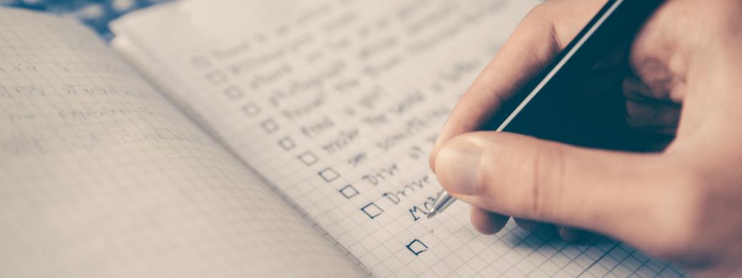 GTD Checklist