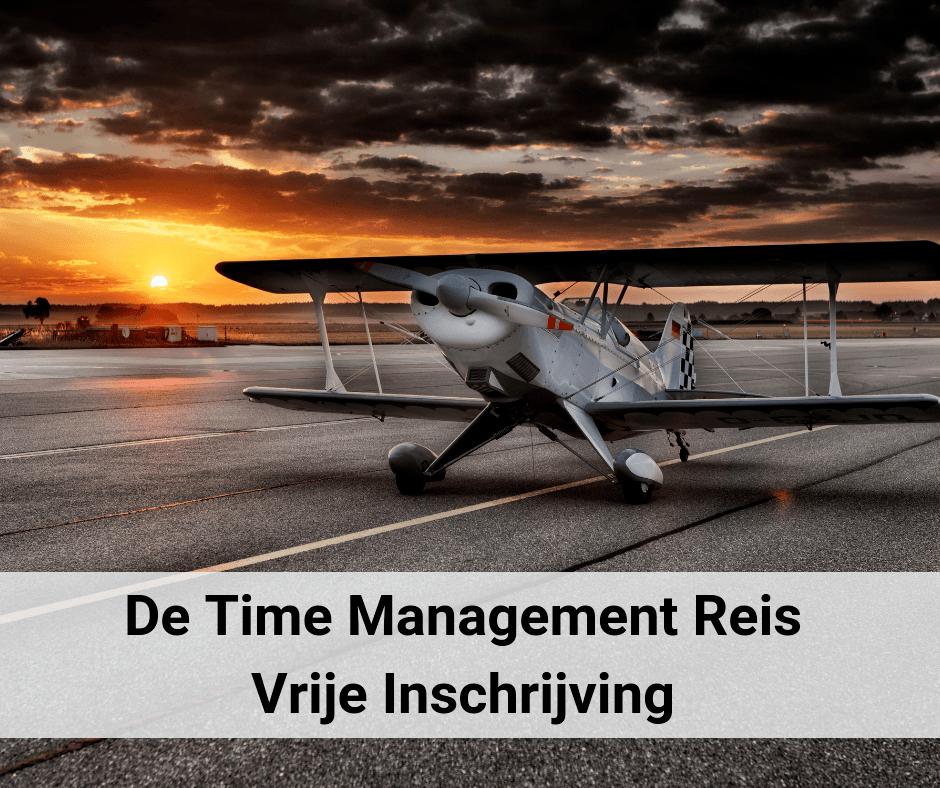 De Time Management Reis Vrije inschrijving
