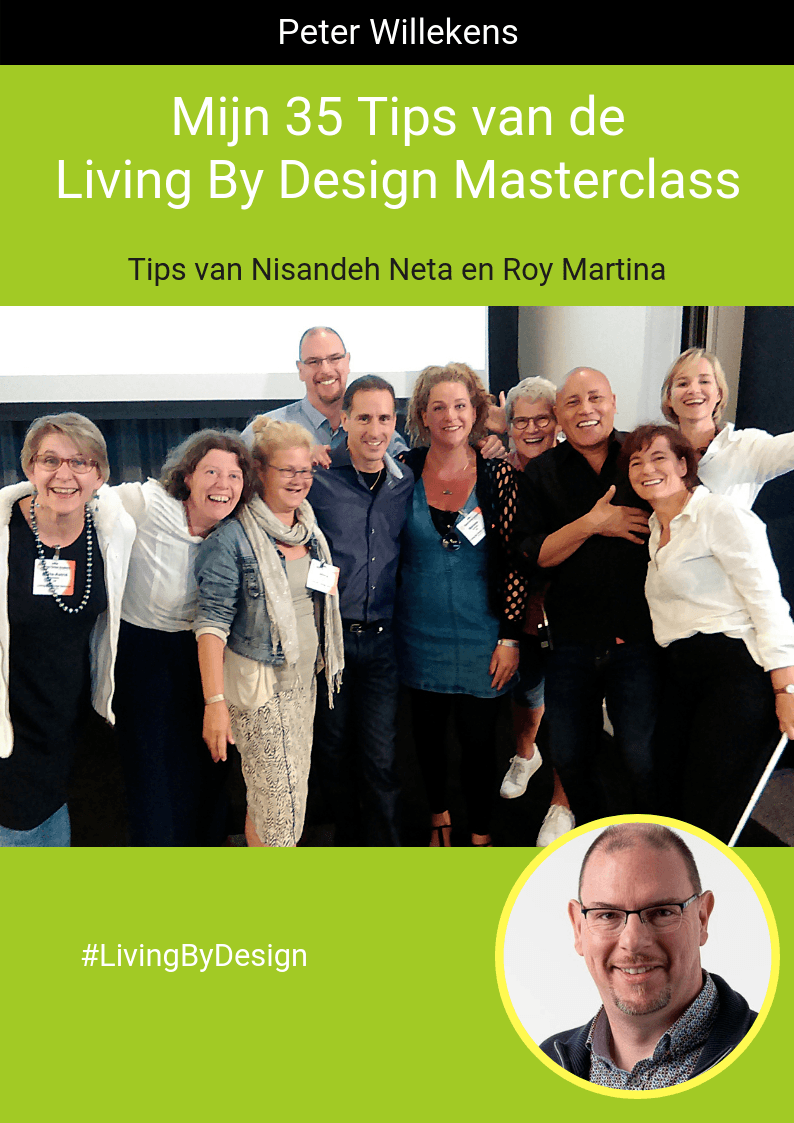 Boekomslag 35 Tips van de Living By Design Masterclass