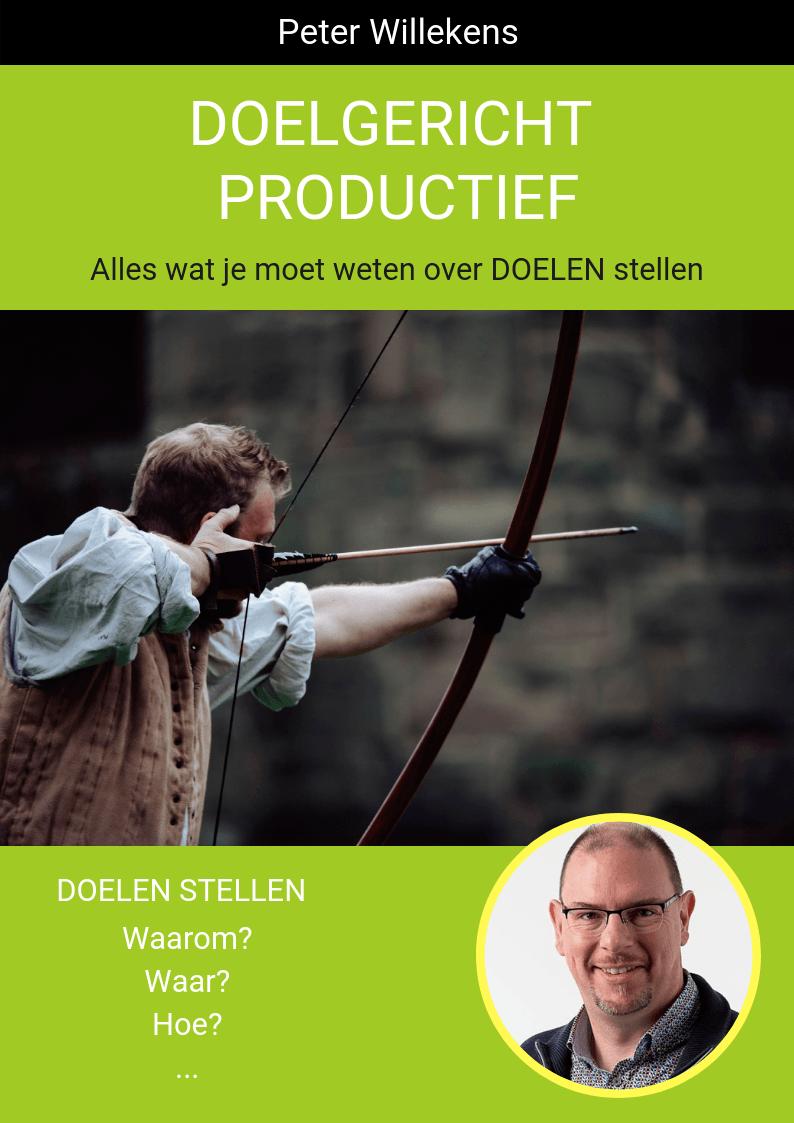 Cover e-boek: Doelgericht Productief