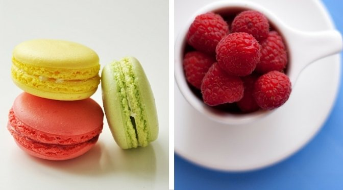koekjes en fruit, wilskracht om te kiezen