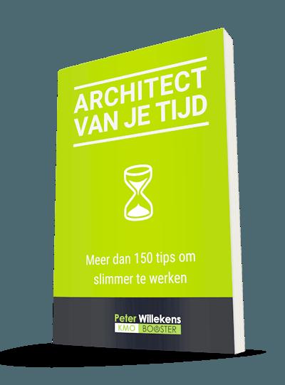 Cover van het boek 'architect van je Tijd'