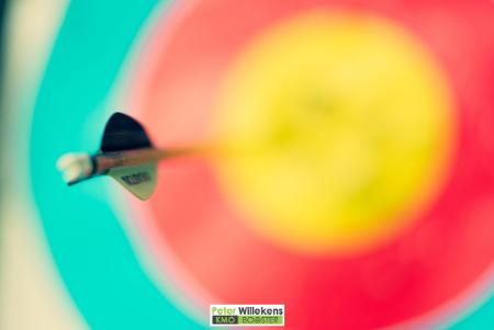 Dart in het center van het doel, een tip om super productief te worden
