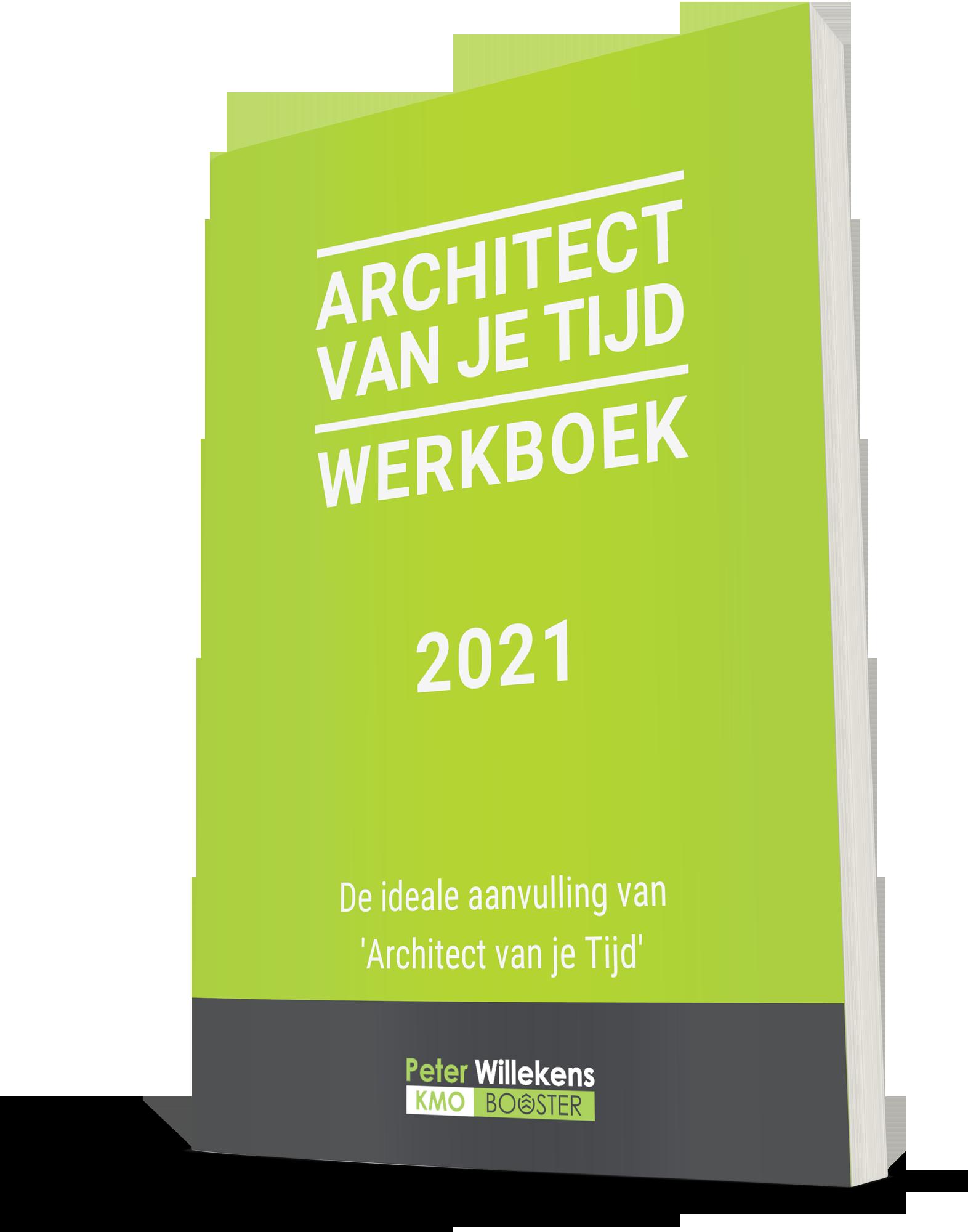 Het werkboek bij Architect van je Tijd