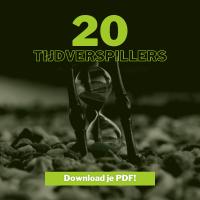 Cover van 20 Tijdverspillers
